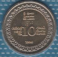 SRI LANKA 10 RUPEES 1998 KM# 158  Bi-métallique INDEPENDENCE ANNIVERSARY - Sri Lanka
