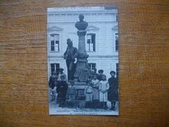 """Repro ..... Longjumeau , Monument D'adolphe Adam ,compositeur Du """" Postillon De Longjumeau """" """" Carte Animée """" - Longjumeau"""