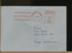 GERMANY - EMA - BUNDESWEHR   WUMM 2720 ROTENBURG - BRD