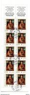 Bande Carnet Croix Rouge 3840 Avec Belle Oblitération - 1/4 De Cote - Markenheftchen