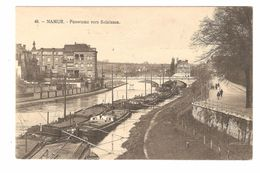 Namur - Panorama Vers Salzinnes - Péniche / Binnenschip - éd. I. Mercelis & Cie - Namen