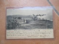 1902 Manovre Militari Im Feuer CANNONI Germany BAYERN - Manovre