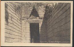 °°° 8654 - GREECE - MYCENAE - TOMB OF AGAMEMNON °°° - Grecia