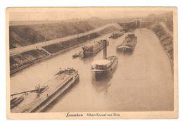 Lanaken / Lanaeken - Albert Kanaal Met Sluis - Péniche / Binnenschip / Woonboot - Foto Centraal Smeermaes-Lanaken - Lanaken