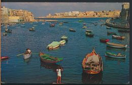 °°° 8656 - MALTA - ST. JULIANS BAY - 1965 With Stamps °°° - Malta