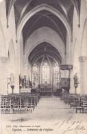 Haelen Intérieur De L'Eglise Circulée En 1906 - Halen