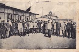 18225# CARTE KRIEGSGEFANGENENSENDUNG LIMBURG Obl DIEZ HESSEN 1919 HAMBACH CAMP PRISONNIERS GUERRE WW1 - Guerra De 1914-18