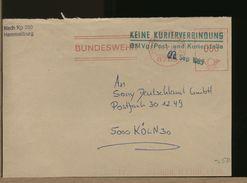 GERMANY - EMA - BUNDESWEHR  HAMMELBURG - Machine Stamps (ATM)