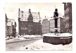 3550 MARBURG, Marktplatz Im Schnee - Marburg