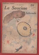 COLLECTION PATRIE     LA SAUCISSE INFERNALE       N° 60 - 1914-18