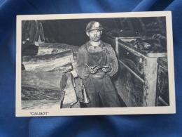 Mines  Jeune Galibot Tenant Un Carnet  Wagonnets - Ed. Jauer - R142 - Mijnen
