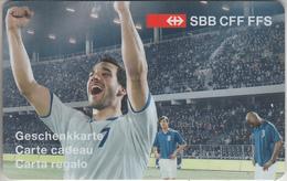 CARTE  KDO  SUISSE * GIFT CARD     ***   TRAIN - CFF - SBB - FFS / 1   *** - Tarjetas De Regalo