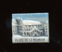 """BB - FEVE  - FEVES -  """"MATCH ALSACE LORRAINE 1994"""" - MULHOUSE  -  PLACE DE LA REUNION - Fèves"""