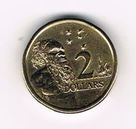 )  AUSTRALIE  2  DOLLARS  1989 - Monnaie Décimale (1966-...)