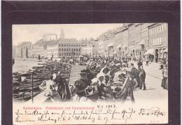 ALTE AK   KOPENHAGEN / Dänemark  - Fiskerkoner Ved Gammelstrand  - Gelaufen 1903 - Danemark