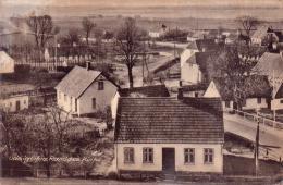 ALTE  Foto-  AK   RAMLOSE / Dänemark  - Udsigt Fra Kirke -  Gelaufen Ca. 1940 - Danemark