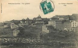 43 - ST JEAN LACHAIN - HAUTE LOIRE - VUE GENERALE - VOIR SCANS - Andere Gemeenten