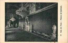CPA Roma Sala Del Trono-Palazzo Del Quirinale. ITALY (552008) - Italia