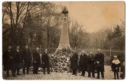54 PONT SAINT VINCENT - CARTE PHOTO - Inauguration Du Monument Aux Morts 1914 18 - Cpa Meurthe Et Moselle - Autres Communes