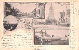 Pecq - Multivues (Grand'Place, Rue De Tournai, L'Escaut, Précurseur) - Pecq