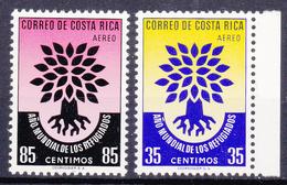 COSTA RICA   - 1960 - Michel N° 556 En 557 - Int.jaardag V.d Vluchtelingen -  Ongestempeld/neuf/new/ungebraucht - ** - Costa Rica