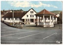 54 SAULNES - La Piscine Et Le Kiosque  - Cpsm Meurthe Et Moselle - France