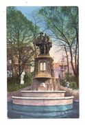 "1000 BRÜSSEL, Denkmal Egmont & Hornes, Deutsche Feldpost ""Meldeamt Festung Antwerpen"", 1916 - Monuments"
