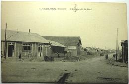 L'AVENUE DE LA GARE - CHAULNES - Chaulnes