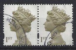 GB 2000 QE II SG.2124. Mi.1843 AS (14.75 X 14.25) 2 Bands - 1952-.... (Elisabetta II)