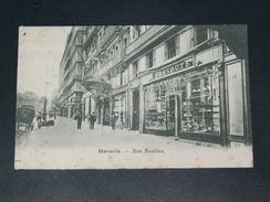 """MARSEILLE   1900   DEVANTURE  COMMERCES  """"  CASSOUTE  """" RUE NOAILLES    EDITEUR - Canebière, Centre Ville"""