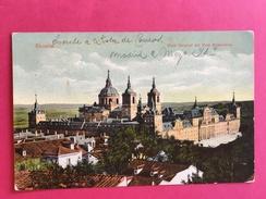 Espagne, Madrid, ESCORIAL, Vista General Del Real Monasterio, (Emilio Moras Y Hermano) - Madrid