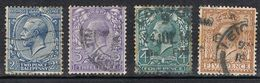 GRANDE BRETAGNE N°143, 144, 145 ET 146 - Used Stamps