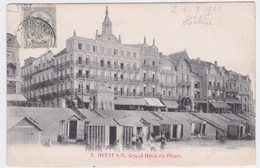 Heyst S/m  Cpa Grand Hotel Du Phare Verzonden 1902 - Heist