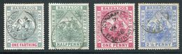 Barbados  81-84 (o)  Used  Sound - Barbados (...-1966)
