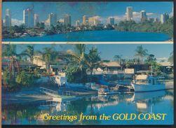 °°° 8690 - AUSTRALIA - GREETINGS FROM THE GOLD COAST °°° - Gold Coast