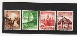EBA601  DEUTSCHES REICH 1938  MICHL 665(68  Used / Gestempelt Siehe ABBILDUNG - Deutschland