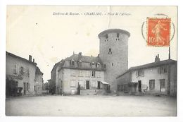 CHARLIEU  (cpa 42)  Place De L'Abbaye  -  - L 1 - Charlieu