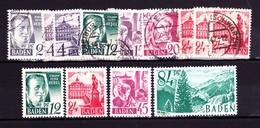 D Baden 1947-49 - Französische Zone