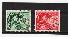 EBA606  DEUTSCHES REICH 1938  MICHL 684/85  Used / Gestempelt Siehe ABBILDUNG - Deutschland