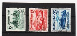 EBA607  DEUTSCHES REICH 1939  MICHL 686/87  Used / Gestempelt Siehe ABBILDUNG - Deutschland