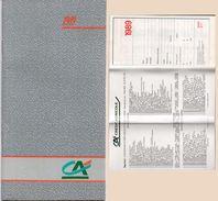 Petit Agenda - Calendrier Du Crédit Agricole 1989 (100409) - Calendriers