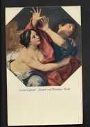 CPA Carlo Cignani Joseph Und Potiphars Weib  - Peinture Tableau Nude Postcard Femme Nue - Belle Qualité ! - Pintura & Cuadros