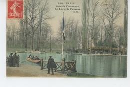 PARIS - XIIème Arrondissement - Bois De Vincennes - Le Lac Et Le Passeur - Arrondissement: 12