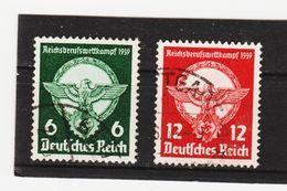 EBA608  DEUTSCHES REICH 1939  MICHL 689/990  Used / Gestempelt Siehe ABBILDUNG - Deutschland