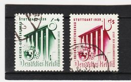 EBA610  DEUTSCHES REICH 1939  MICHL 692/93  Used / Gestempelt Siehe ABBILDUNG - Deutschland