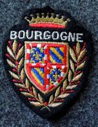 Patch Écusson Tissu Touristique : France - Bourgogne - Régions 21 - 58 - 71 - 89 - Ecussons Tissu