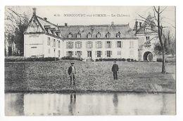 MERICOURT Sur SOMME  (cpa 80)  Le Château -  - L 1 - Autres Communes