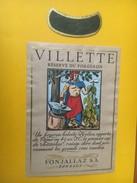 5332 - Villette Réserve Du Forgeron 1986 Suisse - Etiquettes