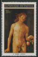 """Ruanda Rwanda 1971 Mi 465 A YT 430 ** """"Adam"""" Painting By Albrecht Dürer (1471-1528) - Rwanda"""