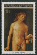 "Ruanda Rwanda 1971 Mi 465 A YT 430 ** ""Adam"" Painting By Albrecht Dürer (1471-1528) - 1970-79: Ongebruikt"